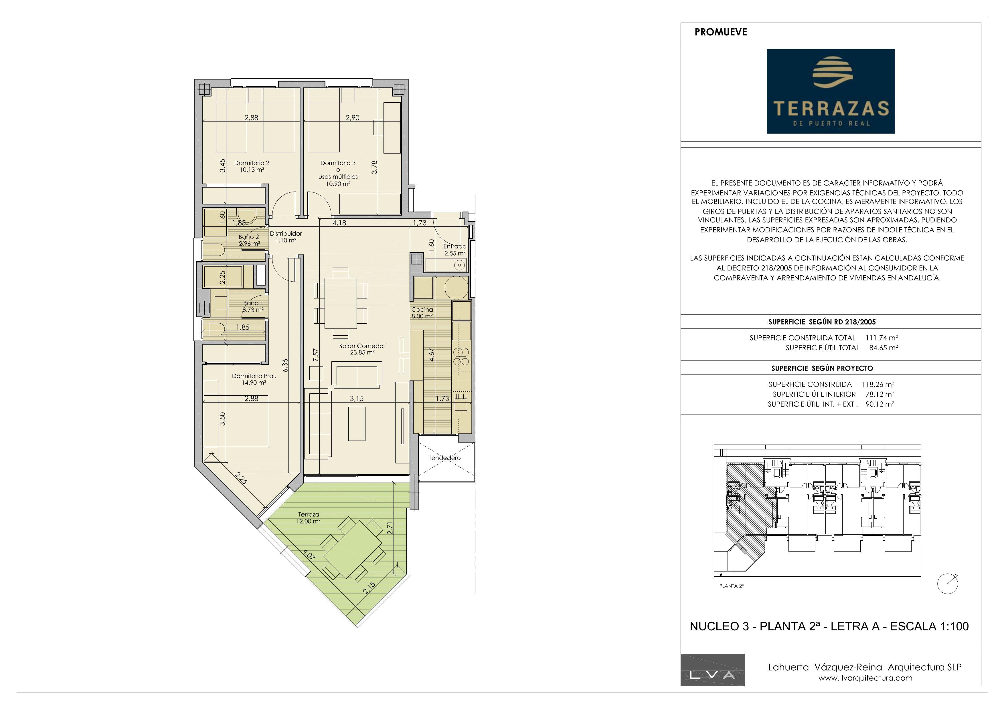 nueva construcción apartamento en puerto real